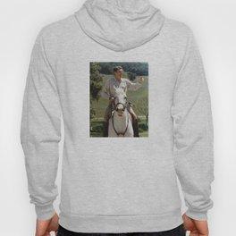 Ronald Reagan On Horseback Hoody