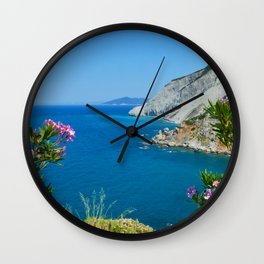 Skiathos Wall Clock