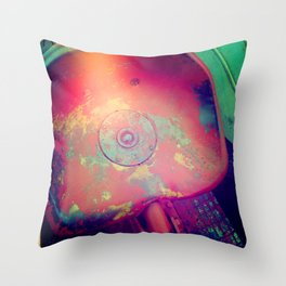 Hours of Use Throw Pillow