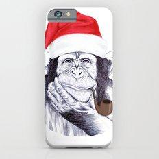 Christmas Chimp iPhone 6s Slim Case