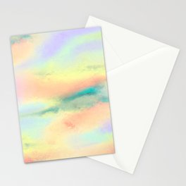 Pastel Clouds Stationery Cards
