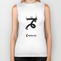 capricorn Biker Tanks featuring Capricorn by Make-Ready