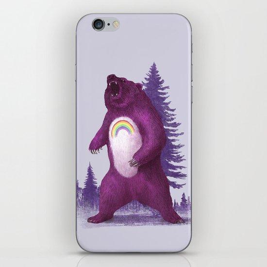 Scare Bear iPhone Skin