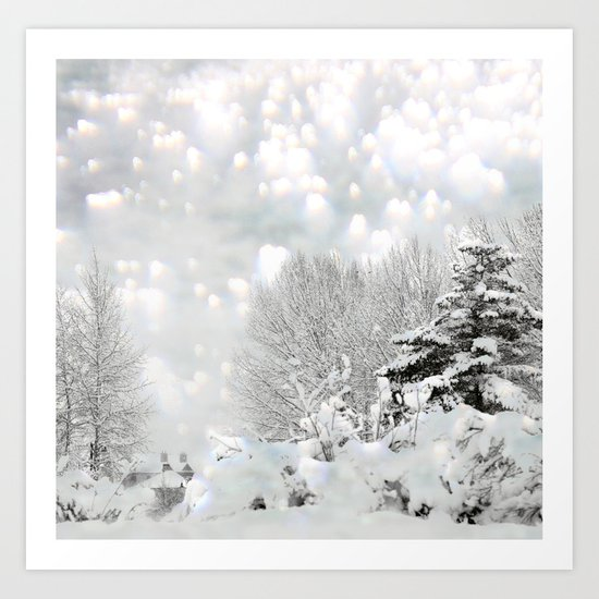 winter magic Art Print