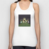 kindle Tank Tops featuring Fairy Dance by Richard Fay