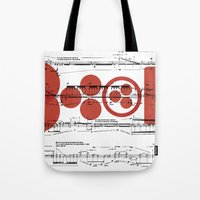 sia Tote Bags featuring lasciate sia by design district