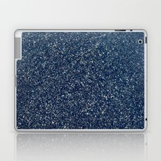 Black Sand II (Blue) Laptop & iPad Skin