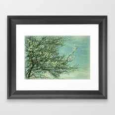 Today before the Gray Framed Art Print