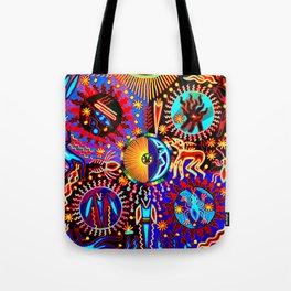 Huichol Dreams Tote Bag