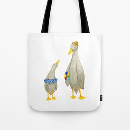 The ducks day out! Tote Bag