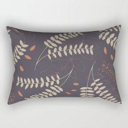 Autumn Flourish: a warm and gentle pattern Rectangular Pillow