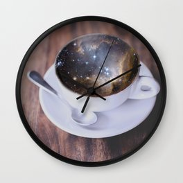 BUT FIRST COFFEE Wall Clock