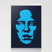 christopher walken Stationery Cards featuring Walken by Aaron Synaptyx Fimister