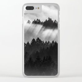 Fog Invasion, San Francisco Bay Area Clear iPhone Case