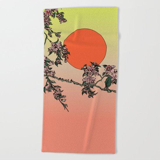 Pugry Blossom Beach Towel