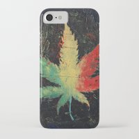 marijuana iPhone & iPod Cases featuring Marijuana by Michael Creese