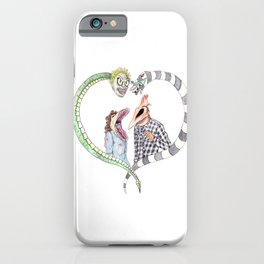 Beetle juice - Adam & Barbara iPhone Case