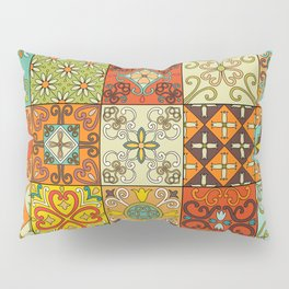 Vintage mosaic talavera ornament Pillow Sham