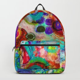 Abstract Painting - Looking forward Backpack
