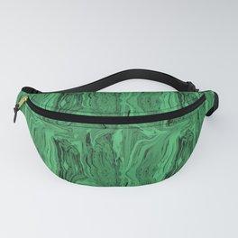 Emerald marble swirl Fanny Pack