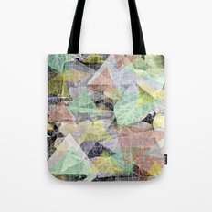 Ivy light and marble Tote Bag