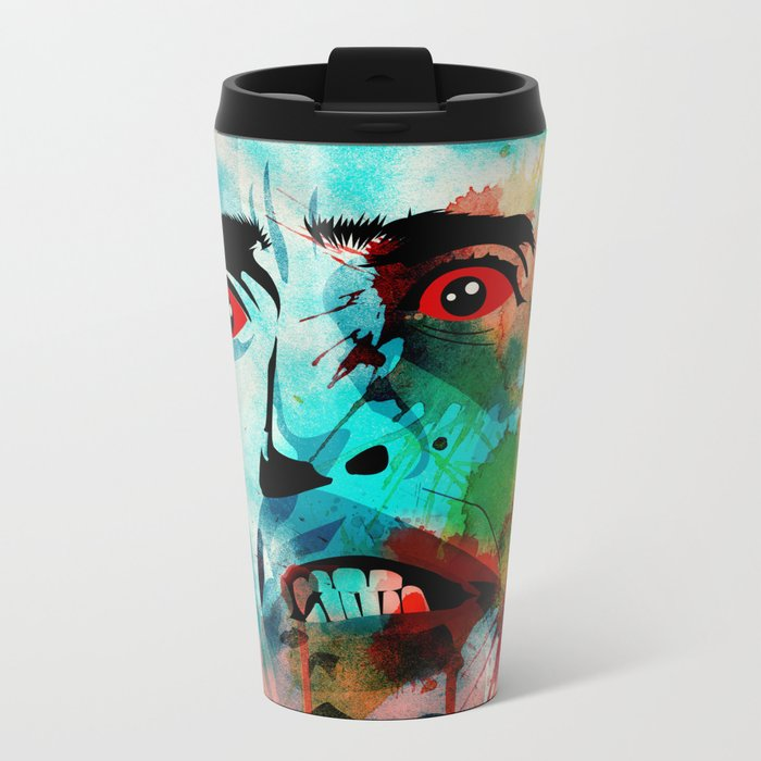 bloodsucker Metal Travel Mug