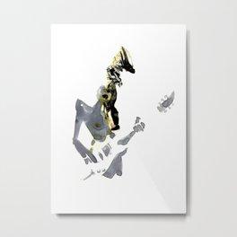 geisha Metal Print