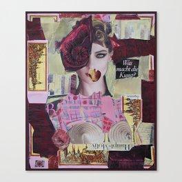 City NeuRoses Canvas Print