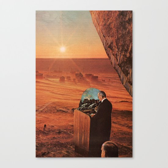 new day rising Canvas Print