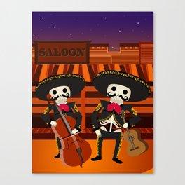 Mexico Mariachi Canvas Print