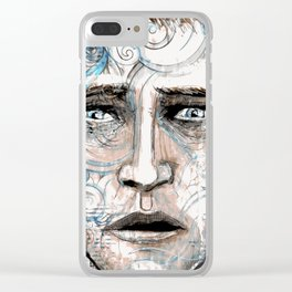 Disappearing Act Clear iPhone Case