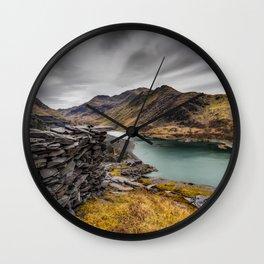 Snowdon Moutain Range Wall Clock