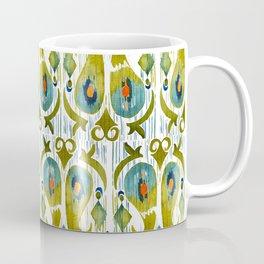 indian cucumbers balinese ikat print mini Coffee Mug