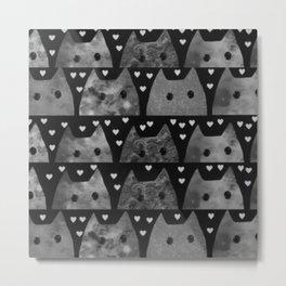 cats 32 Metal Print