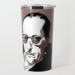 Stravinsky Russian Composer Portrait Art Wall Decor Home House Furniture Frame Music Musician Musica Travel Mug