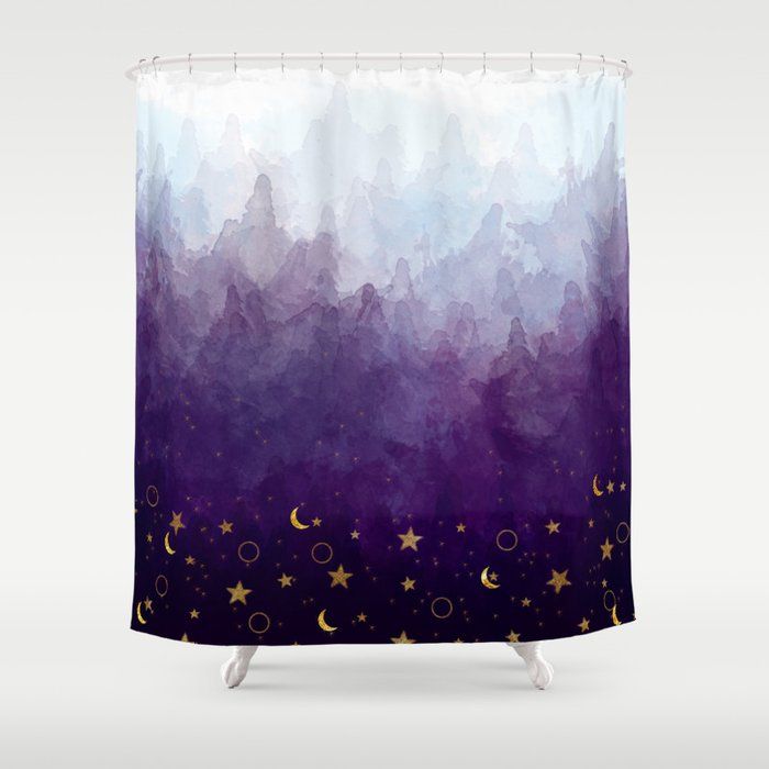 A Sea Of Stars Shower Curtain