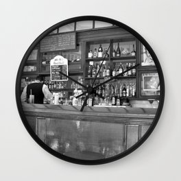 Bar in Old Havana, Cuba Wall Clock