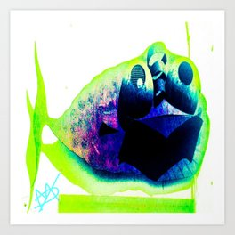 The Piranha Collections Art Print