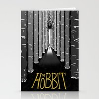 the hobbit Stationery Cards featuring The Hobbit by BolognaOverload