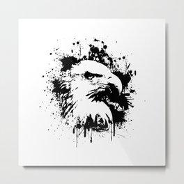 The Majestic American Bald Eagle Metal Print