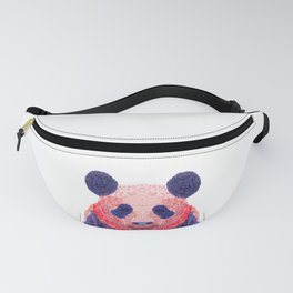 Don't Be Scared To Be Different If You're Already Rare (Panda Animal Painting Stippled Pop Art) Fanny Pack