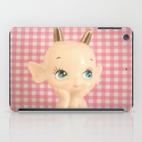 devil iPad Cases featuring  Devil  by Vintage  Cuteness