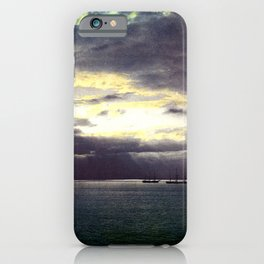 Vintage Sunset Waters : St Lawrence River 1901 iPhone Case
