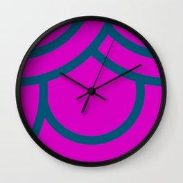 Japanese  Aesthetic Pattern Wall Clock