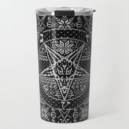 Satanic ugly sweater Travel Mug
