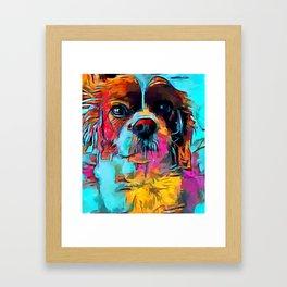 Cavalier King Charles Spaniel 2 Framed Art Print