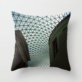 British Museum Throw Pillow