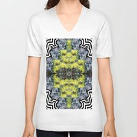 succulents V-neck T-shirts featuring Succulents by saralynn