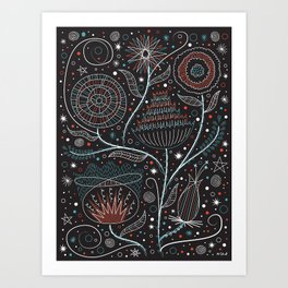 Flowers of the Moon Art Print