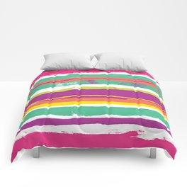 Paint Stripes Comforters